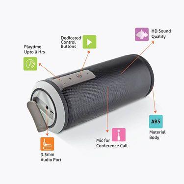 Envent Water Resistant Bluetooth Portable Speaker LiveFree 570 - Black