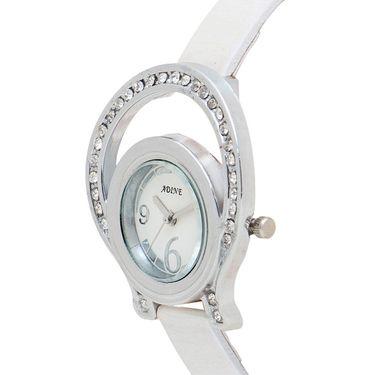 Adine Analog Wrist Watch For Women_Ad1238w - White