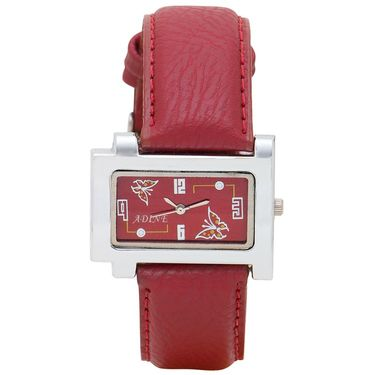 Adine Analog Wrist Watch For Women_Ad1241rr - Red