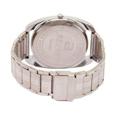 Adine Analog Wrist Watch For Men_Ad52001s - Silver