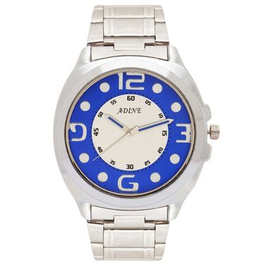 Adine Analog Wrist Watch For Men_Ad52007sb - Blue