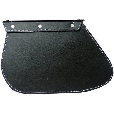 AutoStark One-side Black Leatherette Motorbike Saddlebag  (2.5 L)