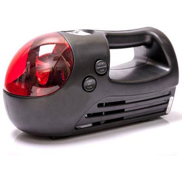 Mini Car Air Compressor Pump Inflator with Red LED