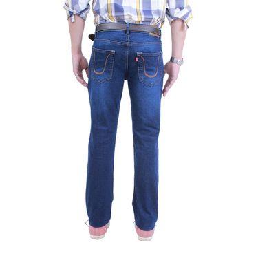 Uber Urban Poly Cotton Jeans_ub02 - Dark Blue