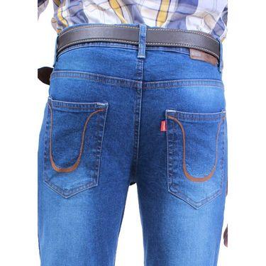 Uber Urban Poly Cotton Jeans_ub03 - Light Blue