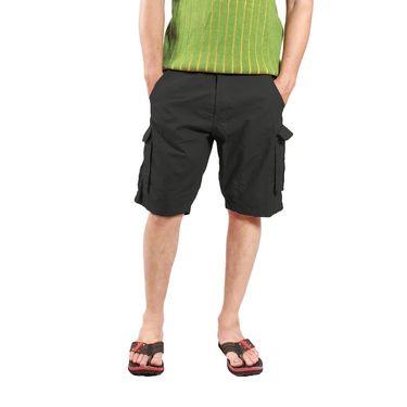 Uber Urban Cotton Shorts_ub13 - Dark Green