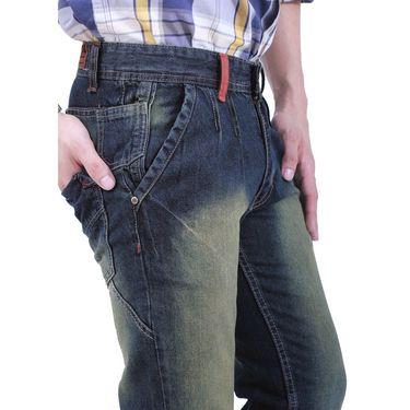 Uber Urban Cotton Jeans_ub19 - Blue