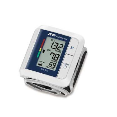 A&D UB-351 Digital Wrist Type BP Monitor