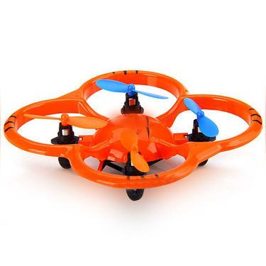 Flipping 4 Channel Flying UFO - Orange