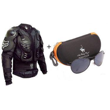 Combo  Sunglass + Riding Jacket