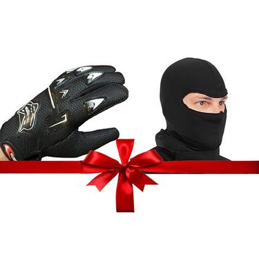 Combo Knighthood Gloves + Balaclava face Mask