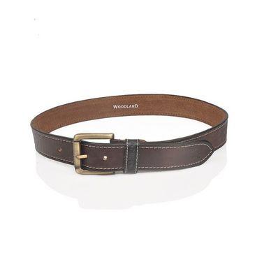 Branded Casual Leather Belt For Men_wd_br - Brown