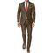 Vimal Suit Length (Coat + Trouser) For Men - Dark Brown