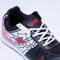 Columbus PU Sports Shoes - White & Black-4358