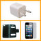 Combo of Vizio Iphone charger + Iphone 5 screen protector + Iphone 5 Flip cover and case.