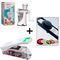 Combo Of Manual Juicer + Vegetable Cutter + Adjustable Slicer