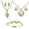 Dg Jewels 2 Pendant Set + 1 Bracelet - DGPSCombo013