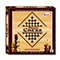 Wooden Chess Board With Wooden Chessmen