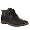 Randier Fox Leather Casual Shoes R058 -Black