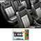 Samsun Car Seat Cover for Chevrolet Aveo U-VA - Grey & Black
