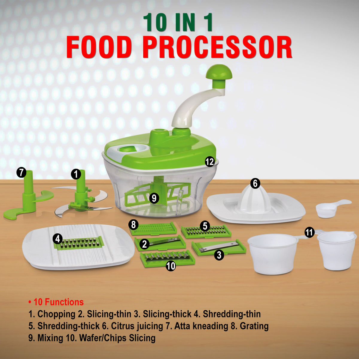 Will A Food Processor Slice Thick