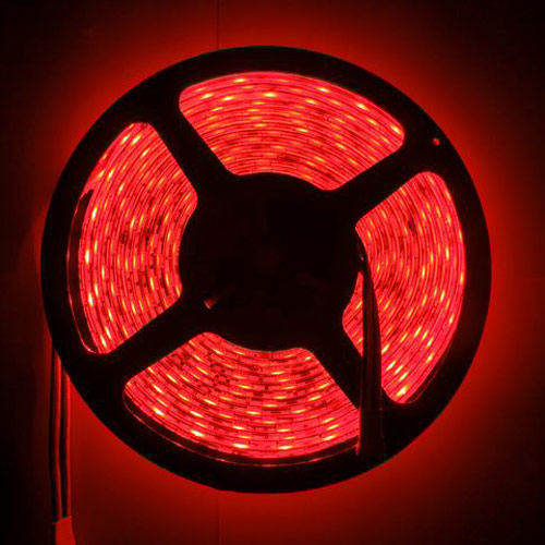 buy branded led strip light waterproof cuttable red 5m. Black Bedroom Furniture Sets. Home Design Ideas