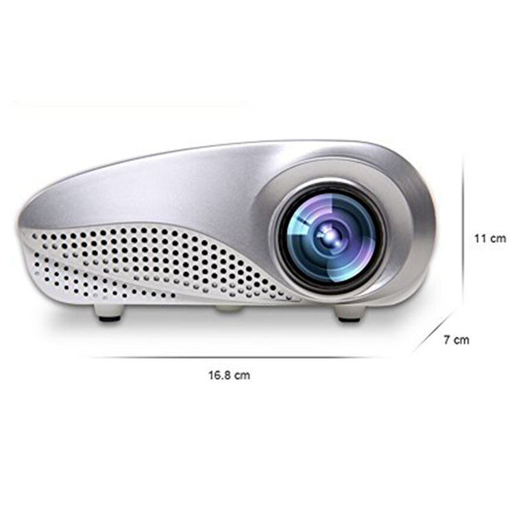 Buy zingalalaa 3d beamer led electric zoom portable video for Micro mini projector