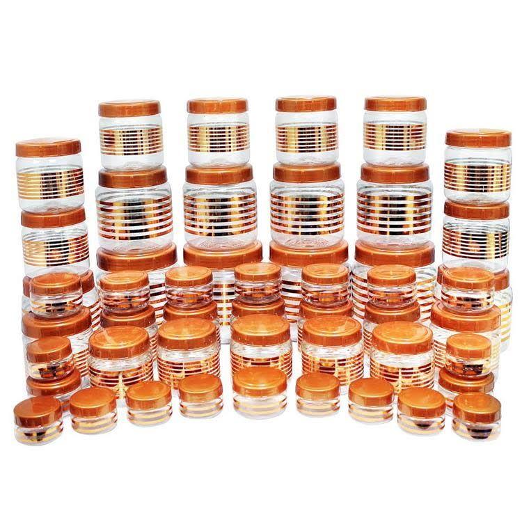 Buy princeware julia 50 pcs combo set copper online at for Kitchen combo set 50 pcs