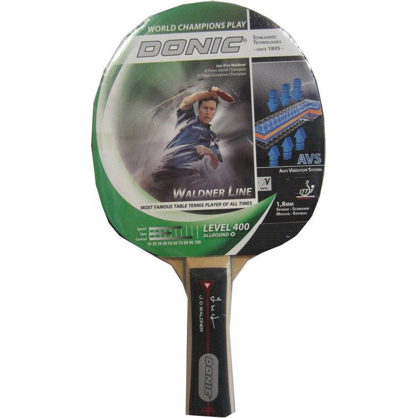 Buy Donic Waldner 400 Table Tennis Bat Online At Best
