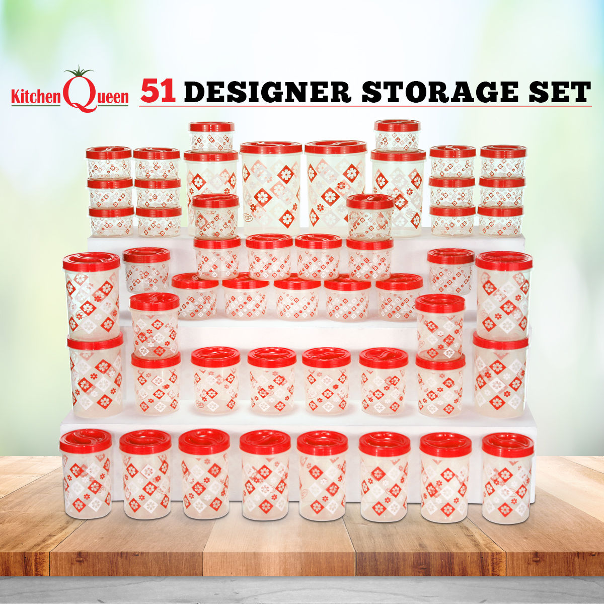 Buy 51 Designer Storage Set Online At Best Price In India On Naaptol Com