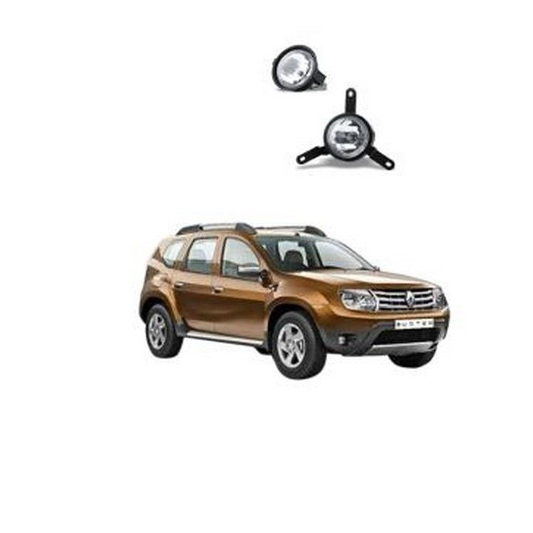 Buy Renault Duster Fog Light Lamp Set Of 2 Pcs  Online At