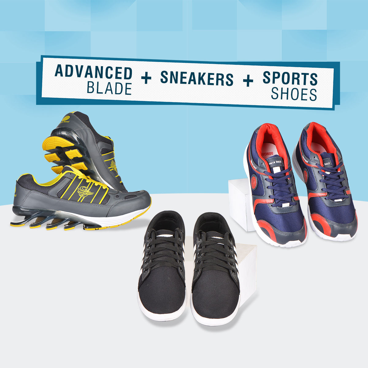 3206e4ea1dd7 Buy Advanced Blade + Sneakers + Sports Shoes Online at Best Price in India  on Naaptol.com