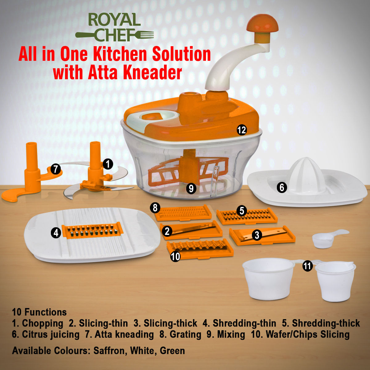 Buy All In One Kitchen Solution With Atta Kneader Online At Best