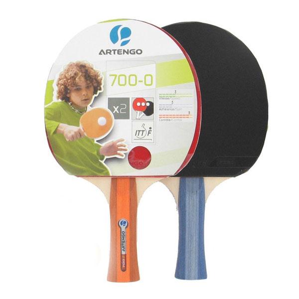 Buy Set Of 2 Artengo Table Tennis Bat Online At Best Price