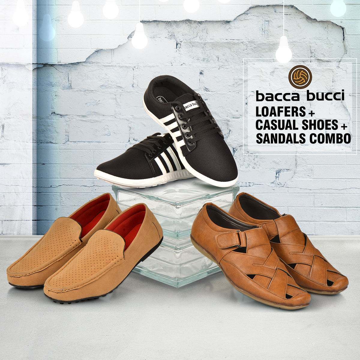 Buy Bacca Bucci Black Moccasins for Men Online United States Best Prices Reviews BA978SH60QTRINDFAS