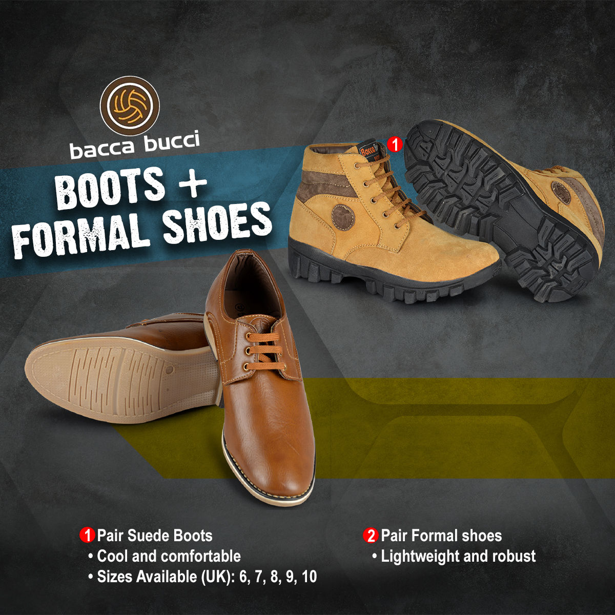 453d64c71a0c2 Buy Boots + Formal Shoes Online at Best Price in India on Naaptol.com