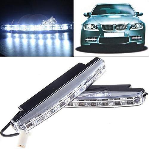 Buy Branded Car Daytime Running 8 LED Light Super Bright