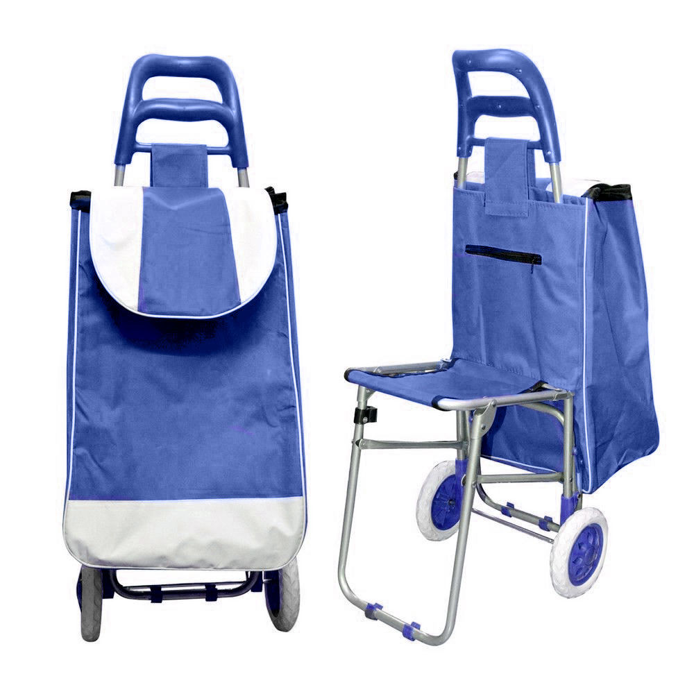 Buy Multi-Purpose Trolley Bag with Foldable Chair Online at Best ...