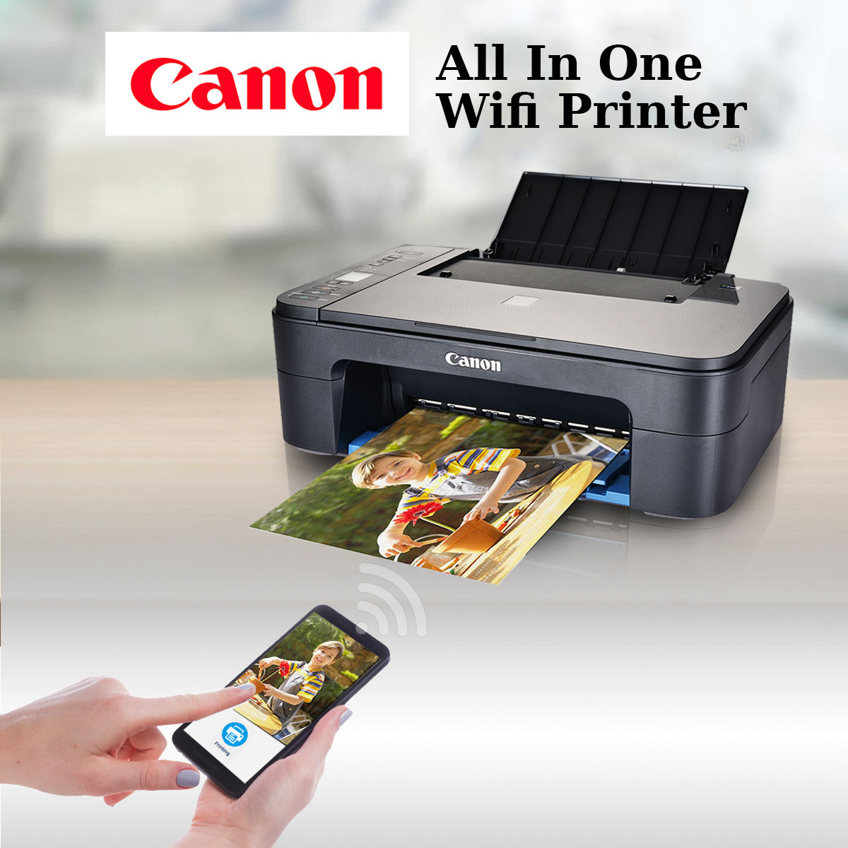 Buy Canon All In One Wi Fi Printer Online At Best Price In
