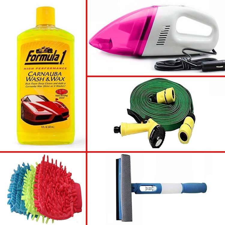 buy restore beauty with combo of 5 car cleaning accessories online at best price in india on. Black Bedroom Furniture Sets. Home Design Ideas
