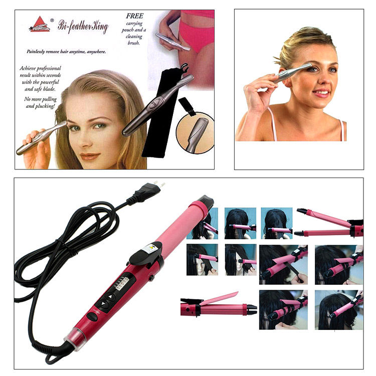 Buy Combo Of Professional 2 In 1 Hair Curler Cum