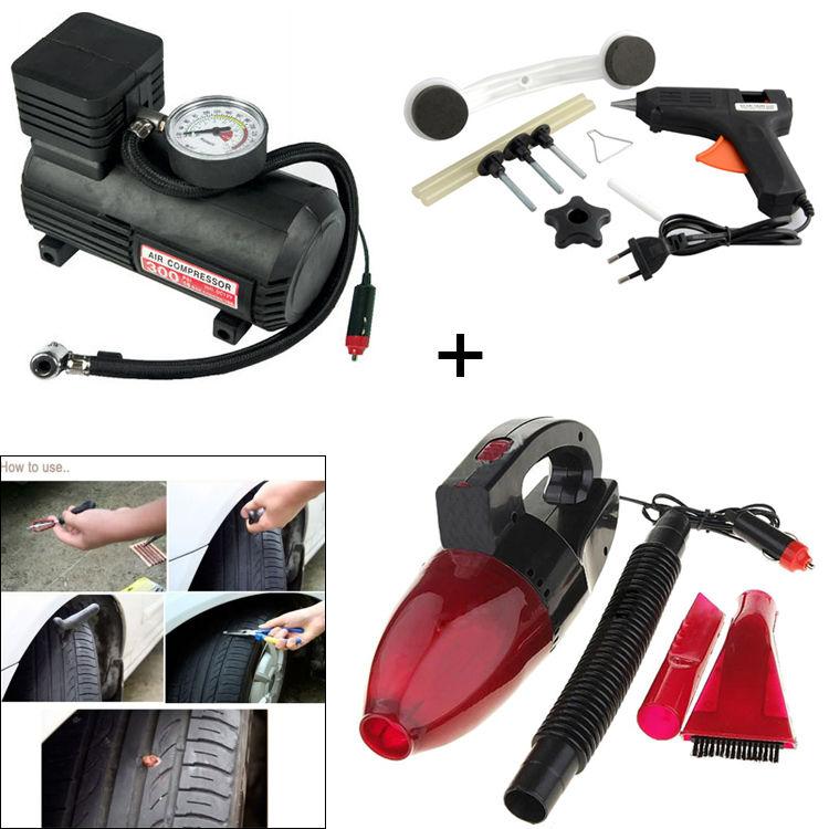 Buy Air Compressor Car Dent Remover Car Vacuum Cleaner