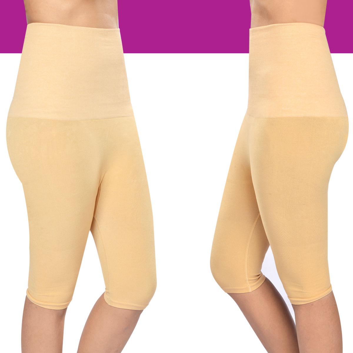 bcbfa34e76 Buy Get In Shape Tummy   Thigh Shaper for Women - Pack of 2 Online at Best  Price in India on Naaptol.com