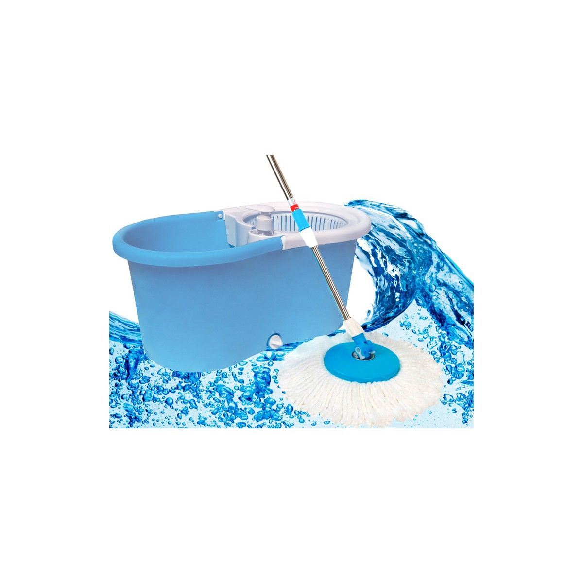 Buy Kawachi Magic Wash Floor Cleaning 360 Spin Mop With