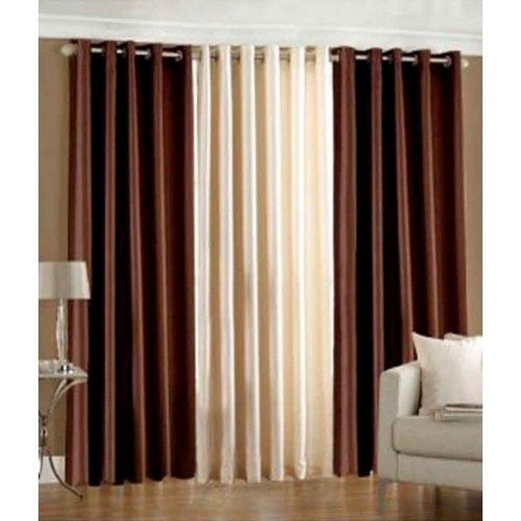 Buy iws set of 3 designer door curtains iws ct 37 online for Door curtains