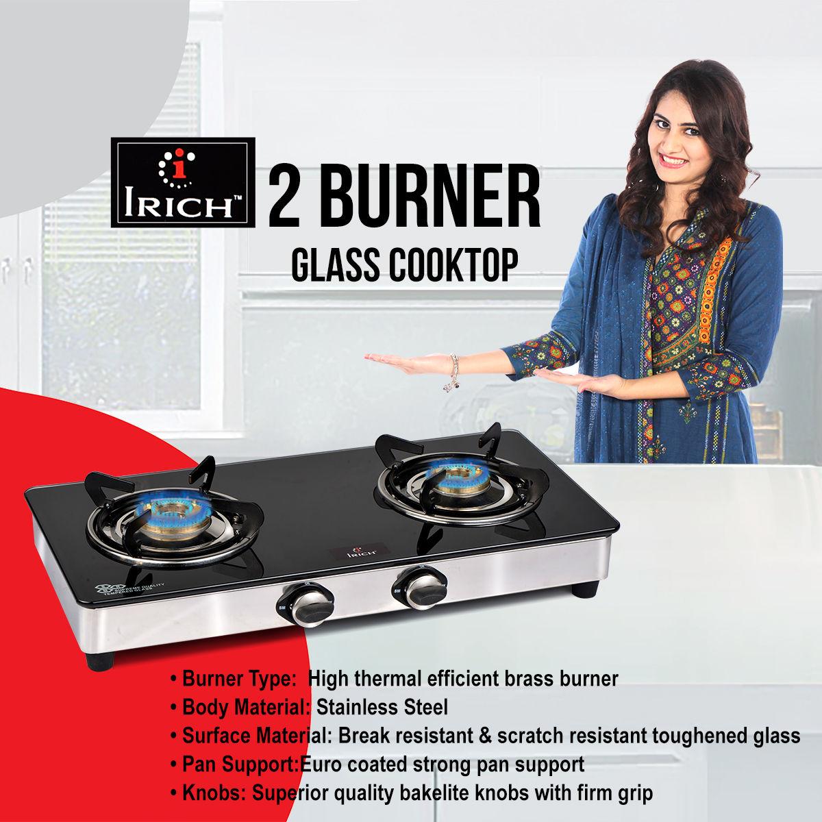 2 burner cooktop jindal gloria 2 burner cooktop special for Naaptol kitchen queen set