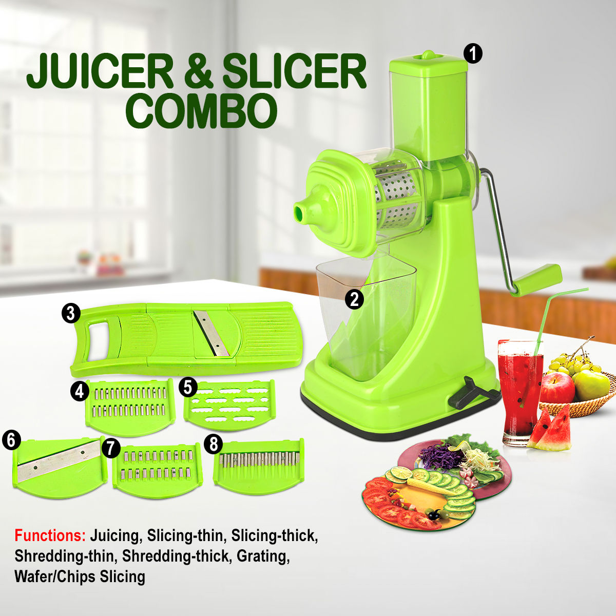 Buy Juicer Slicer Combo Online At Best Price In India On Naaptol Com