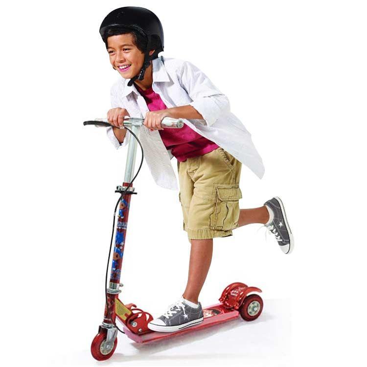 Buy Kids 3 Wheel Foldable Mini Scooter