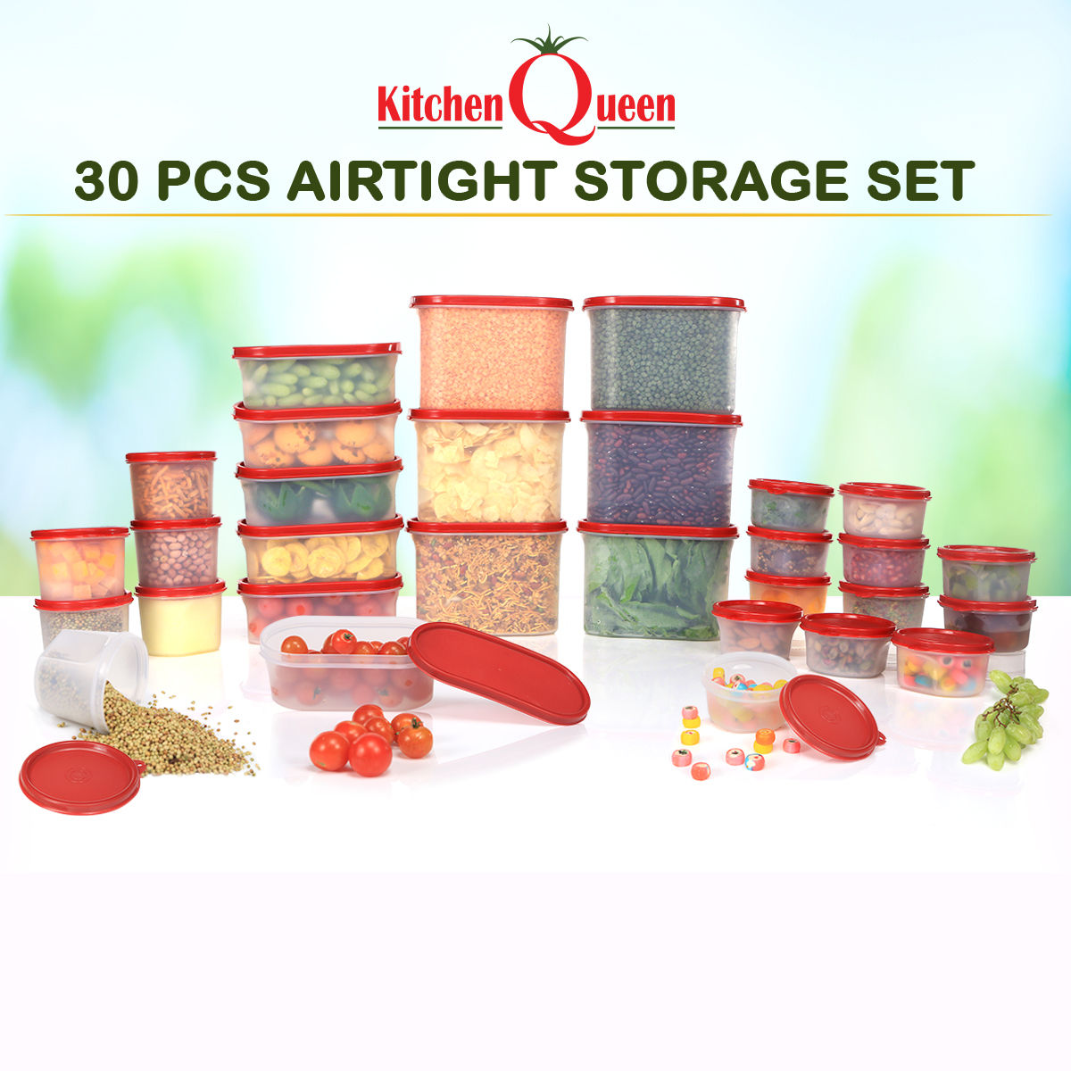 Buy 30 Pcs Airtight Storage Set Online At Best Price In India On