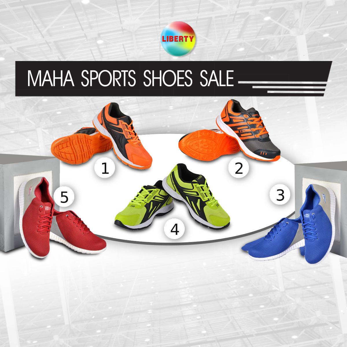 Buy Liberty Maha Sports Shoes Sale